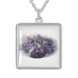 Vintage Violets Necklace