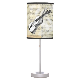 Vintage Violin Music Lamp