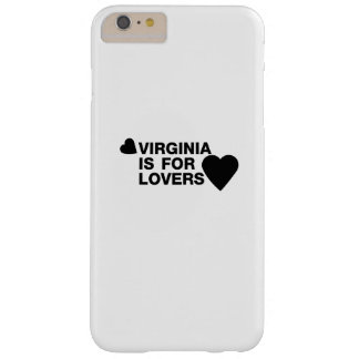 Vintage Virginia Is For The Lovers Gift Barely There iPhone 6 Plus Case