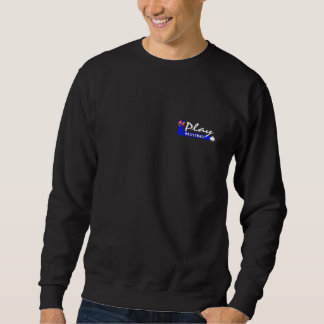 Vintage Volleyball Dark Sweatshirt