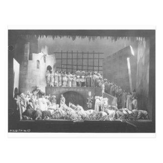 Vintage Voodoo Macbeth 1936 Postcard