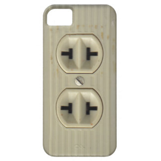 Vintage Wall Socket iPhone 5 Case