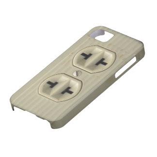 Vintage Wall Socket iPhone 5 Case