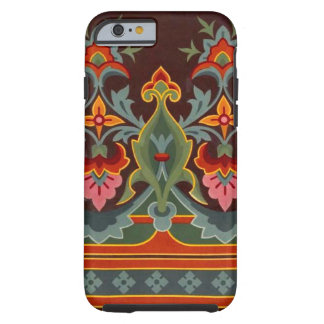 Vintage Wallpaper Design Tough iPhone 6 Case