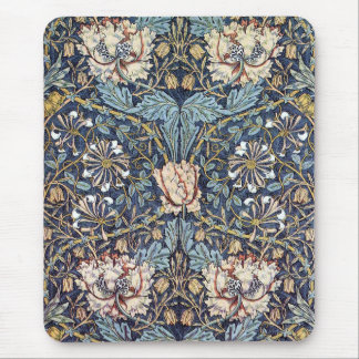 Vintage Wallpaper Flowers and Vines Mousepad