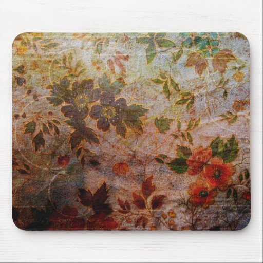Vintage Wallpaper Mousepad
