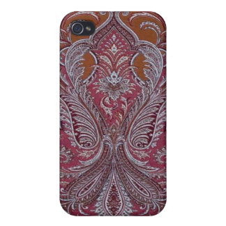 Vintage Wallpaper Wine Copper Case iPhone 4 iPhone 4/4S Covers