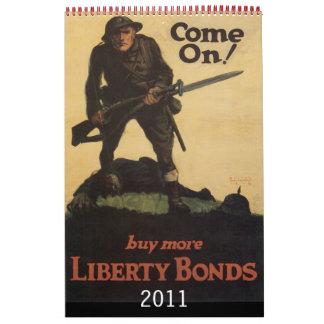 Vintage War Poster Calendar 2011