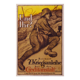 Vintage War Posters from Germany