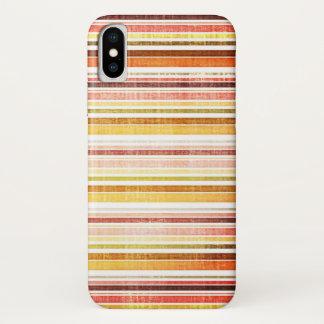 Vintage Warm Autumn Stripes Pattern Case-Mate iPhone Case