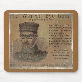 Vintage Warren Eye Guard Mousepads