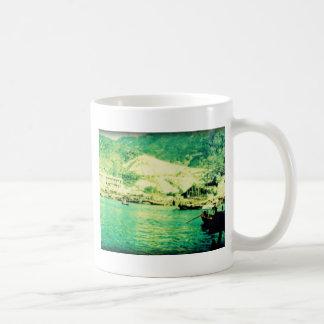 Vintage Waterfront Coffee Mug