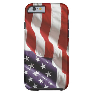Vintage Waving US Flag iPhone 6 case