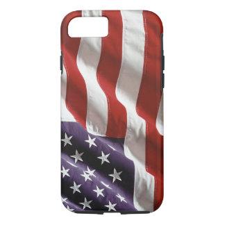 Vintage Waving US Flag iPhone 7 case