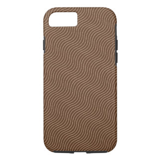 Vintage Wavy Fabric Pattern iPhone 7 Case