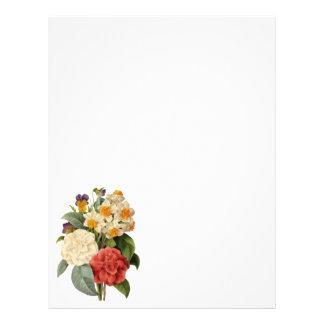 Vintage Wedding Bouquet, Blooming Flowers Custom Flyer