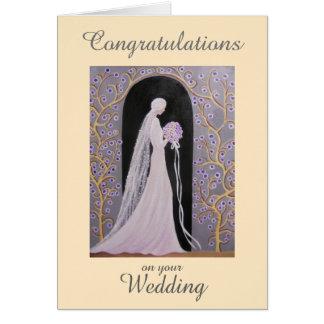 VINTAGE WEDDING, GREETING CARD