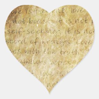 Vintage  Wedding Love is Patient Envelope Seal