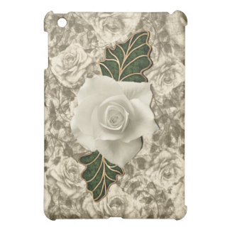 Vintage Wedding Rose iPad Mini Cover