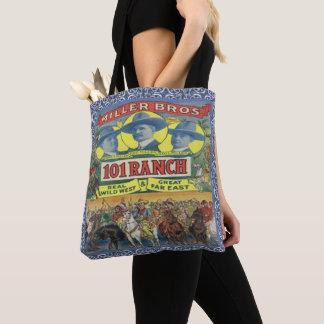Vintage Western 101 Ranch Cowboys Tote Bag