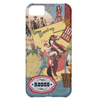 vintage western collage iphone 5 case
