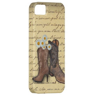 Vintage Western Cowboy Boots romantic iphone5case iPhone 5 Cover