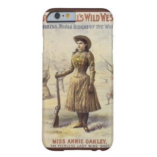 Vintage Western Cowgirl, Miss Annie Oakley Barely There iPhone 6 Case