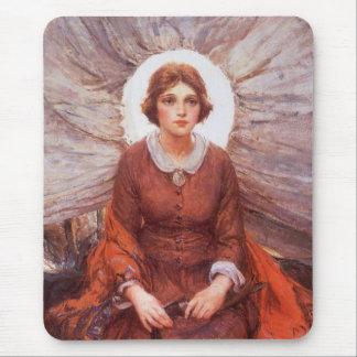 Vintage Western, Madonna of the Prairie by Koerner Mouse Pad