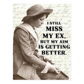 Vintage western photo postcard