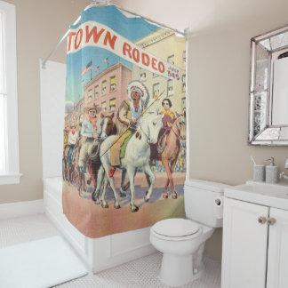 Vintage Western Rodeo Parade Print