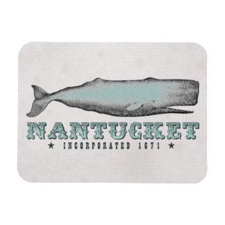Vintage Whale Nantucket Massachusetts Inc 1671 MA Magnet