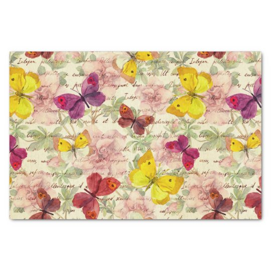 vintage,whimsical,cute,trendy,shabby,chic,floral,t tissue paper