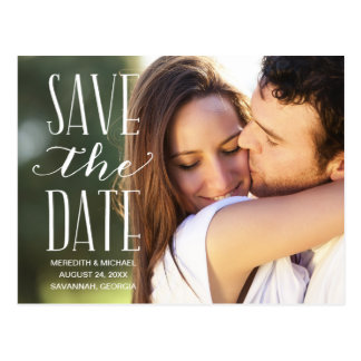 Browse through Zazzle's wedding save the date ideas, including these save the date postcards!