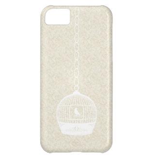 Vintage White Bird Case Cover iPhone 5 Case