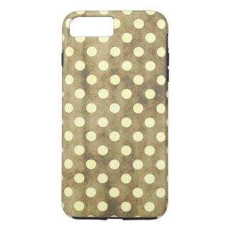 Vintage White Polk Dots iPhone 8 Plus/7 Plus Case
