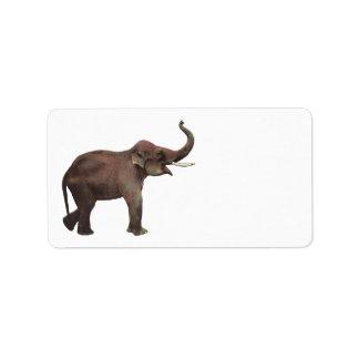 Vintage Wild Animals, Good Luck Asian Elephants