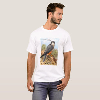 Vintage Wild Birds Illustration with Text T-Shirt