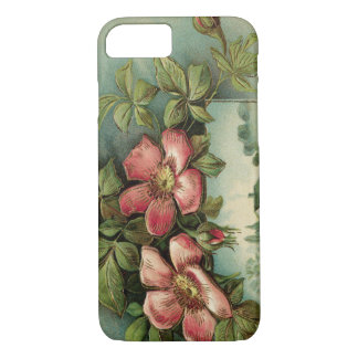 Vintage Wild Roses iPhone 7 Case