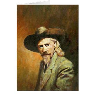 Vintage Wild West Portrait Greetings Card