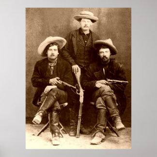 Vintage Wild West / RED JACKS Poster