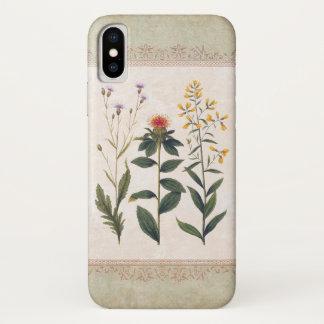 Vintage Wildflowers Antique German Floral Case-Mate iPhone Case