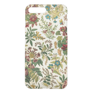 Vintage Wildflowers iPhone7 Plus Clear Case