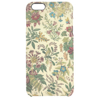 Vintage Wildflowers iPhone 6/6S Plus Clear Case