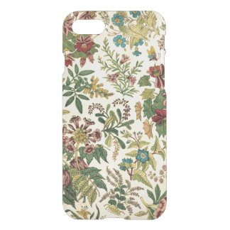 Vintage Wildflowers iPhone 7 Clear Case