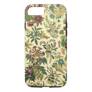 Vintage Wildflowers iPhone 7 Tough Case