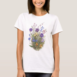 Vintage Wildflowers T-Shirt
