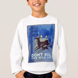 Vintage Wildlife Animal Sweatshirt