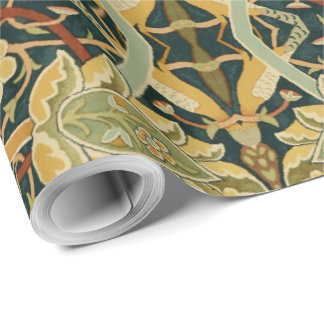 Vintage William Morris Bullerswood Carpet Wrapping Paper