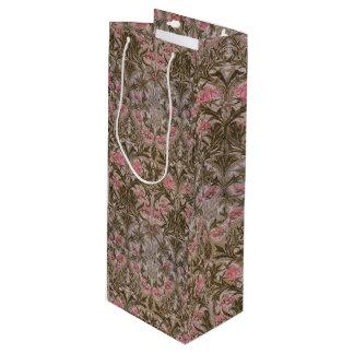 Vintage William Morris Columbine Wine Gift Bag