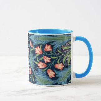 Vintage William Morris Floral Pattern Mug